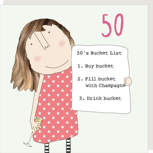 Girl 50 Bucket List