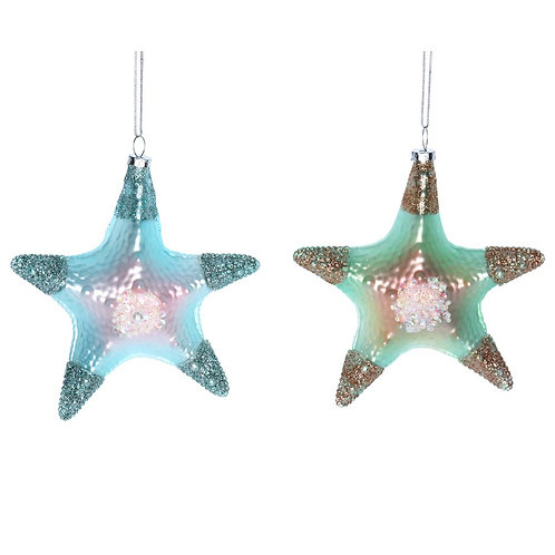 Green/Blue Starfish Decoration
