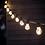 Thumbnail: Black Classic Festoon Light - 10 Bulbs