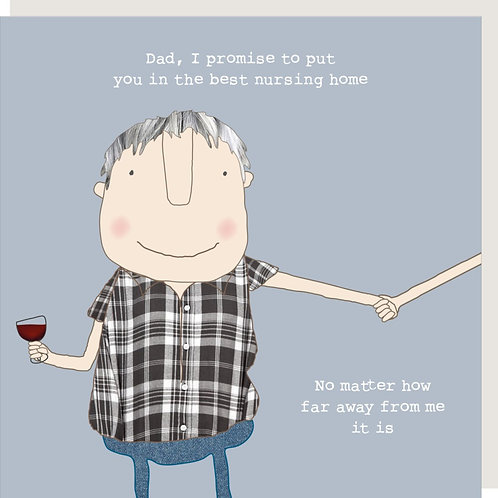 Father's Day Card - Nursing Home Dad