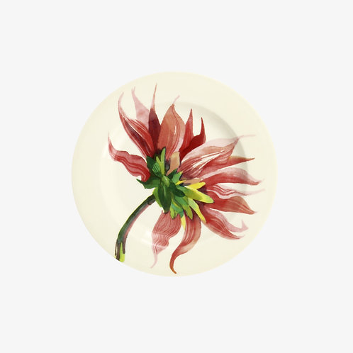 Flowers Pink Dahlia 6 1/2 Inch Plate