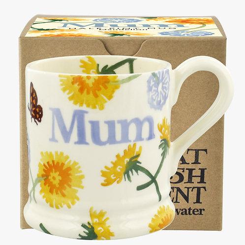 Dandelion Mum 1/2 Pint Mug Boxed