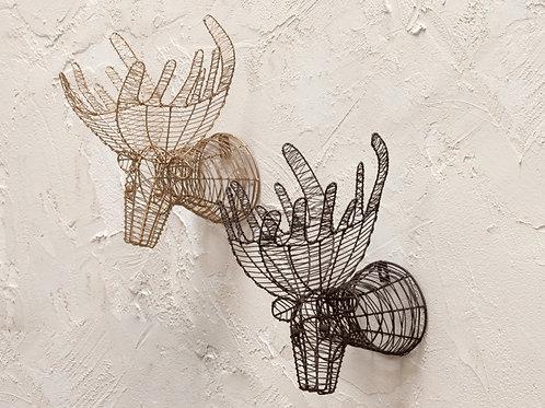 Eko Mini Moose Head Brass