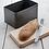 Thumbnail: Steel Borough Bread Bin in Grey