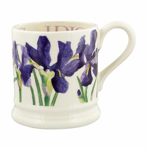 Flowers Blue Iris 1/2 Pint Mug