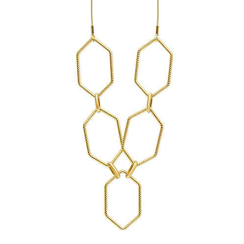 ALEXA NECKLACE GOLD PLATING