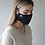 Thumbnail: Adult Organic Cotton Face Covering Navy
