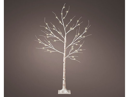 LED birch tree 125cm - 48 Lights