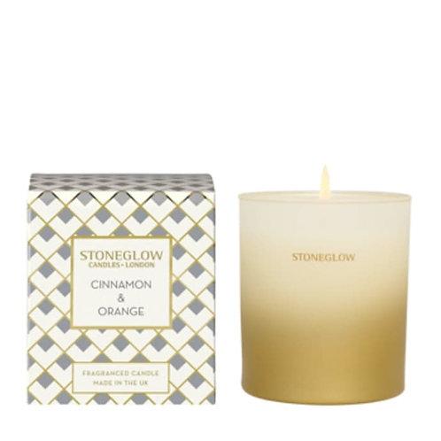 Seasonal Collection Cinnamon & Orange Tumbler Candle