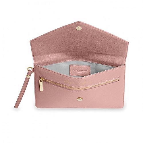 Esme Envelope Clutch Bag | Pink