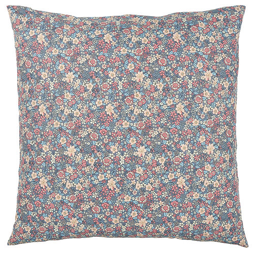 Cushion cover lavender w/flowers