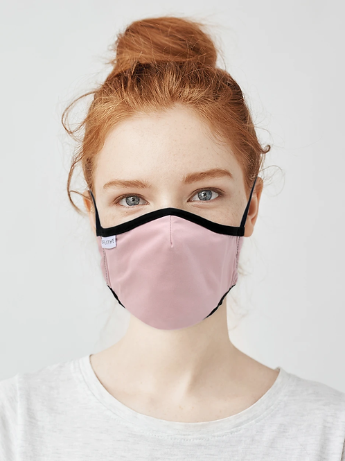 Kids / Teen Organic Cotton Face Covering Pink