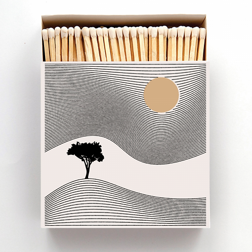 One Tree Hill Large Matches in Square Printed Matchbox