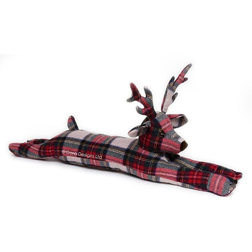 Plaid Stag Draught Excluder
