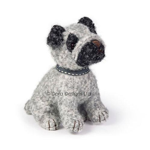 Puggles Junior Pug Dog Paperweight