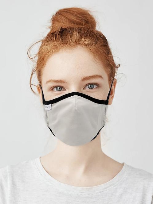 Kids / Teen Organic Cotton Face Covering Grey