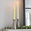Thumbnail: Cement Set of 2 Candleholders Tall