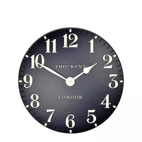 12 Inch Arabic Black Wall Clock