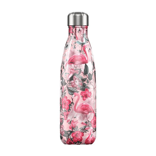 Tropical Flamingo 500ml Chilly's Water Bottle