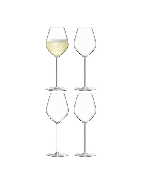 Set of 4 Borough Champagne Tulip Glass