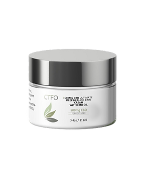 CBD 500mg Pain Rub Oil