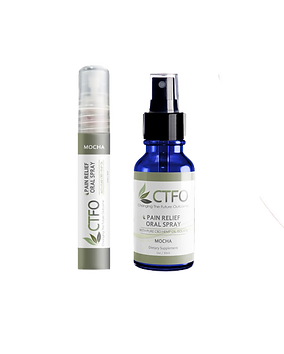 ctfo cbd pain relief oral spray