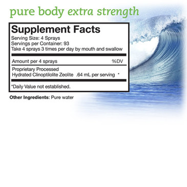 Pure Body Extra Strength pure cbd factor