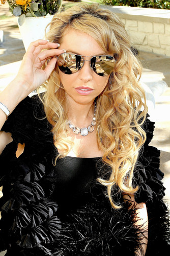 celebrity model artist monika jensen photoshoot bel air Los Angeles