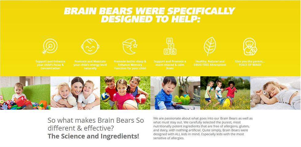 brean bears kids nutrition gummy
