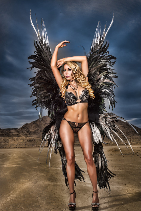 MONIKA JENSEN VICTORIA SECRET WINGS