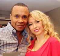 celebrity monika jensen and sugar ray leonard