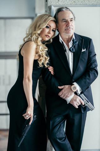 celebrity model artist monika jensen photoshoot and Joe colangelo
