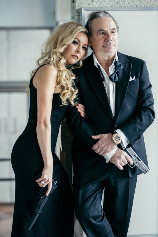 celebrity model artist monika jensen photoshoot and Joe colangelo