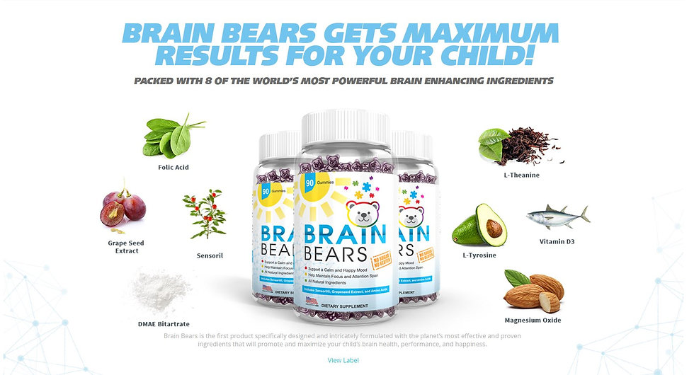 kids suppliments health growth