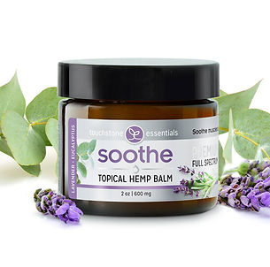 Soothe Topical Hemp CBD Balm 600mg