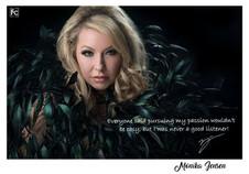celebrity model artist monika jensen photoshoot fashion calgary