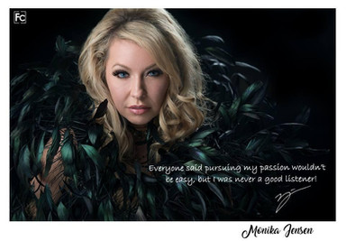 celebrity model artist monika jensen photoshoot fashion calgary