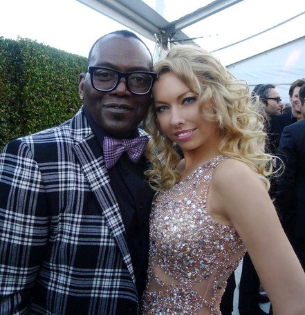 celebrity monika jensen and randy jackson