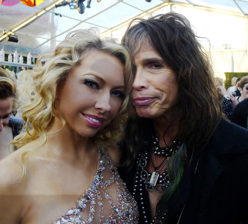 celebrity monika jensen and steven tyler