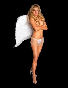 celebrity model artist monika jensen photoshoot victoria secret angel
