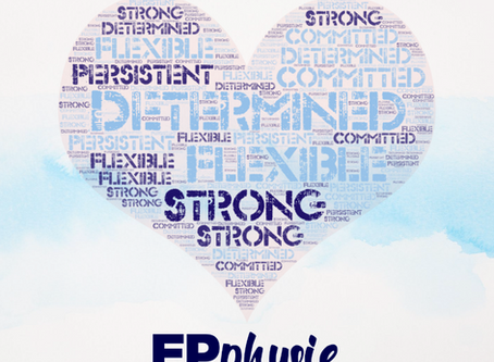 We are Determined, we are Strong, we are Physie Girls!