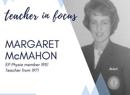 Teacher in Focus - Mrs Margaret McMahon OAM