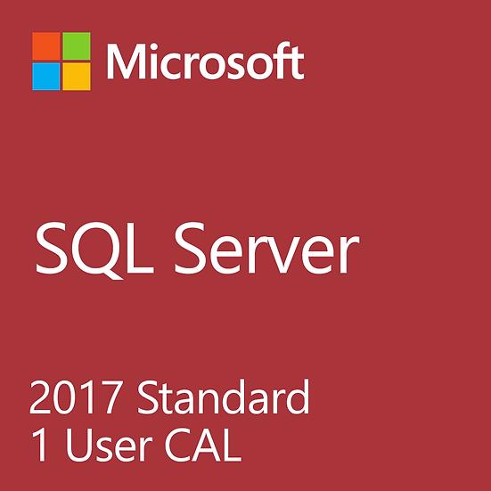 Microsoft SQL Server 2017 - Server + CAL