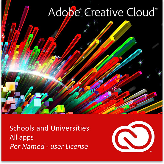 Adobe Creative Cloud All Apps (School and University)