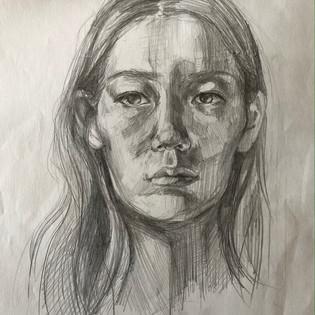 annette-kim-11th-grade-_self-portrait_-f
