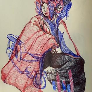 katelynlee_acrylics_sketchbook_ballpoin
