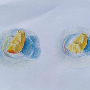 audrey-yoo-grade-9-eating-a-snack-drawin