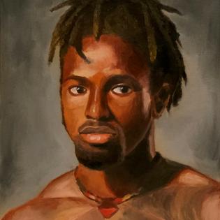 Oil Paint Portrait Study