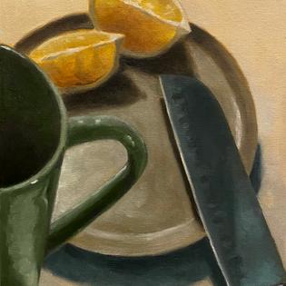 Oil Paint Still Life
