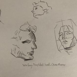 Simplified Head Chin